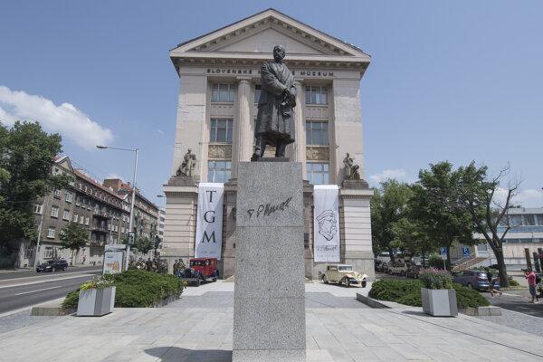 T. G. Masaryk Square in Bratislava