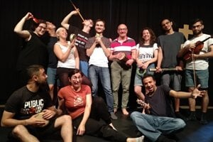Theatre of the Oppressed takes centre stage in Bratislava.