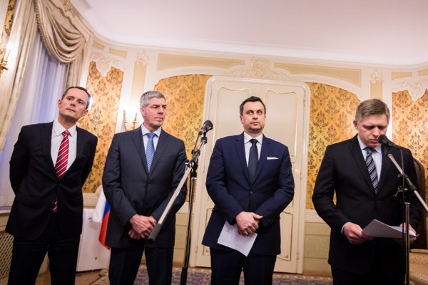 Coalition government is in fact the default state for Slovakia.