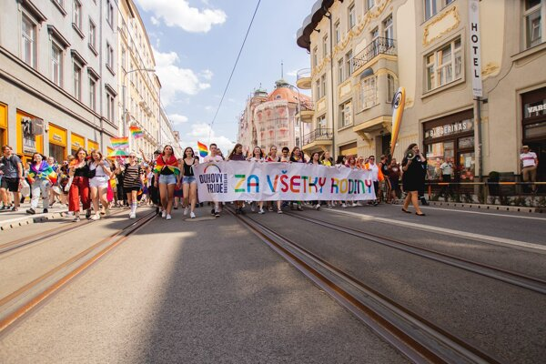 This year's Rainbow PRIDE takes place on July 20 on Hviezdoslavovo Square in Bratislava.
