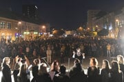 Košice protest on October 18