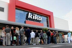 A Kika furniture store