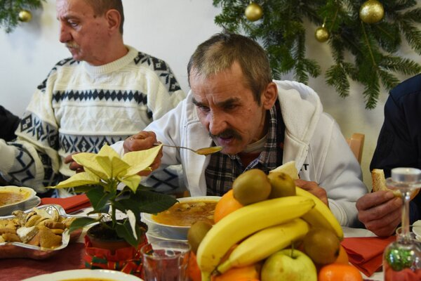 Christmas table is traditionally rich in Slovakia as well as the Czech Republic.