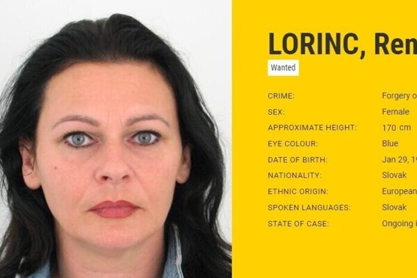 Renáta Lorinc has been the most wanted Slovak woman in Europe until recently