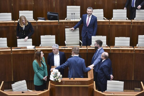 A special parliamentary session on February 20, 2020.