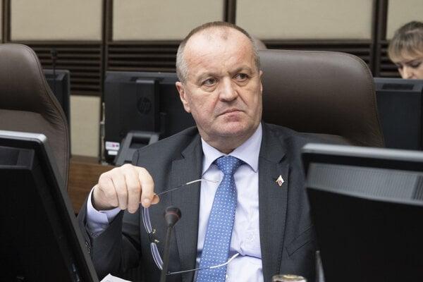 Peter Gajdoš, Defence Minister