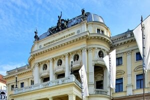 Historical building of Slovak National Theatre
