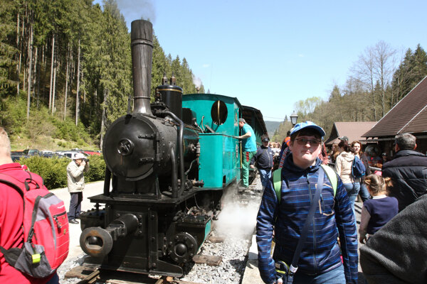 Archive photo from Čierny Balog