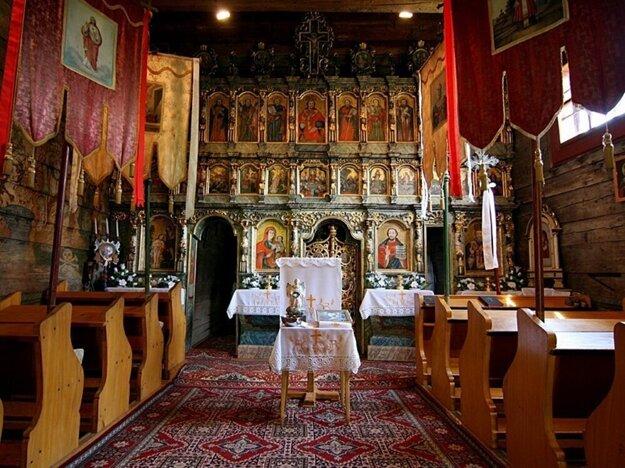 Wooden church in Bodružal