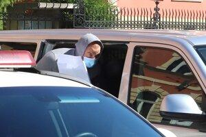Norbert Bödör arrived to the Specialised Criminal Court on July 5.