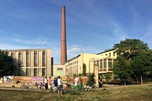 The sugar refinery in Trnava.