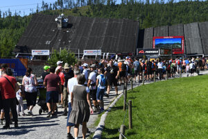 The Tatras have been flooded with tourists.