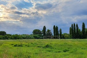 The last football pitch