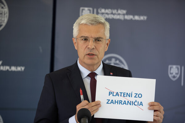 Foreign Affairs Minister Ivan Korčok