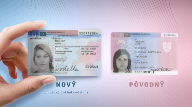 Several changes have been made to residence cards for foreigners living in Slovakia.