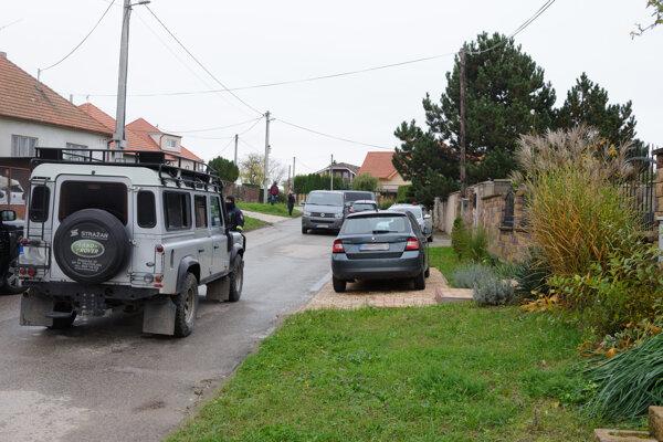 Police in Janíkovce