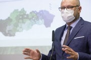Richard Sulík presented his pandemic plan on November 23.