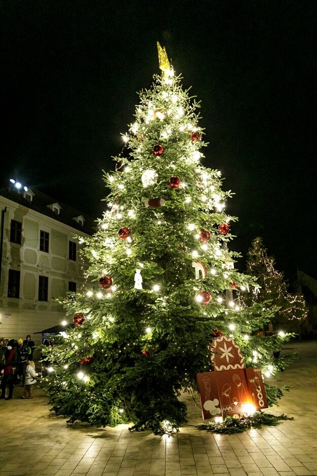 Christmas tree on Main Square