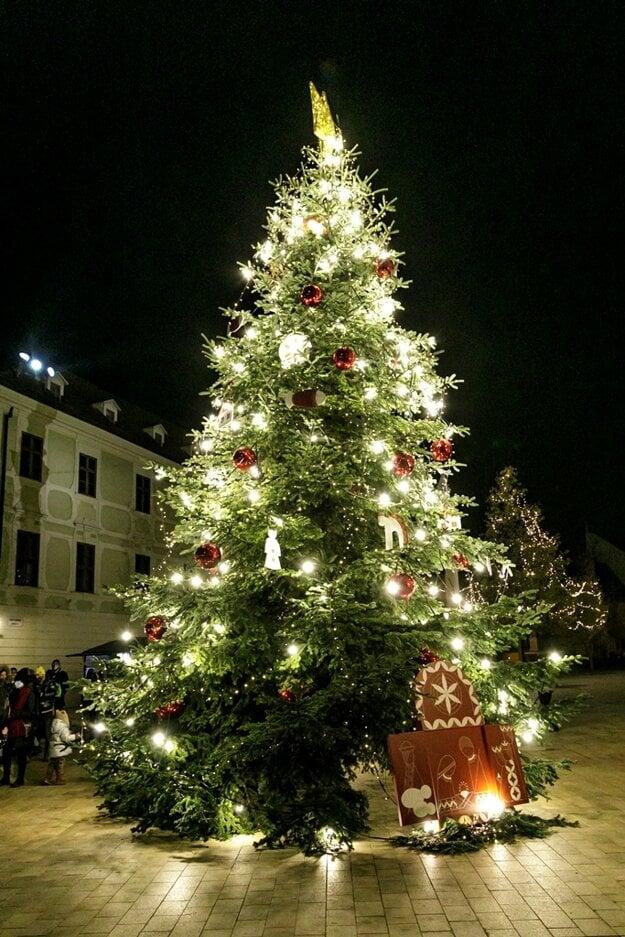 Christmas tree on Main Square