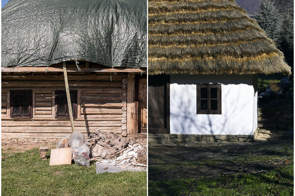 Reconstruction of the house