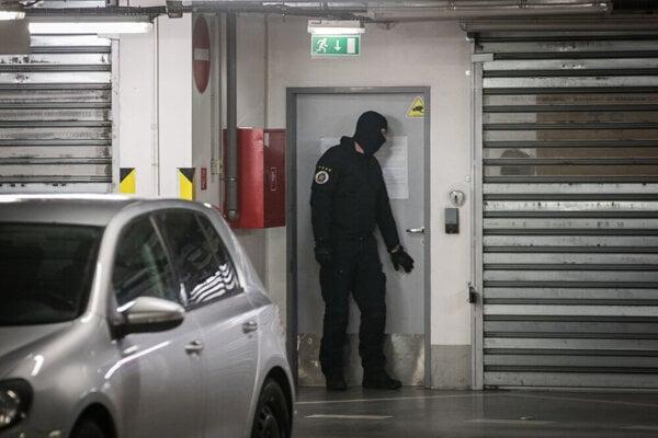 NAKA raid at the DoubleTree by Hilton hotel in Bratislava.