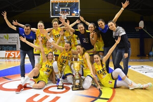 WEEK 12: Young Angels Košice, a women's basketball team, won the Slovak Cup after beating Čajky (Seagulls) from Piešťany on March 21, 2021.