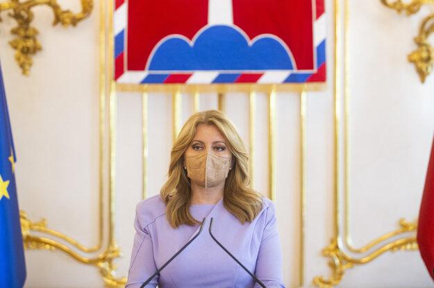 President Zuzana Čaputová asked people to get vaccinated on June 23.