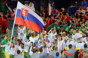 Danka Barteková carried the flag at the opening ceremony in Rio de Janeiro.