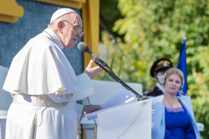 Pope Francis' speech
