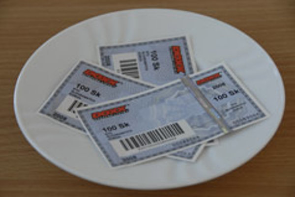 Money on a plate: meal vouchers are proving lucrative for some firms.