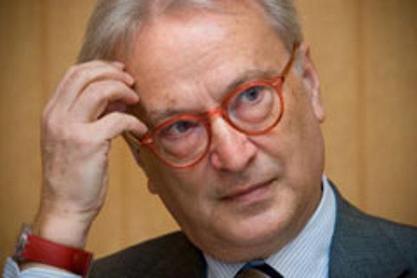 Party of European Socialists vice-chairman, MEP Hannes Swoboda