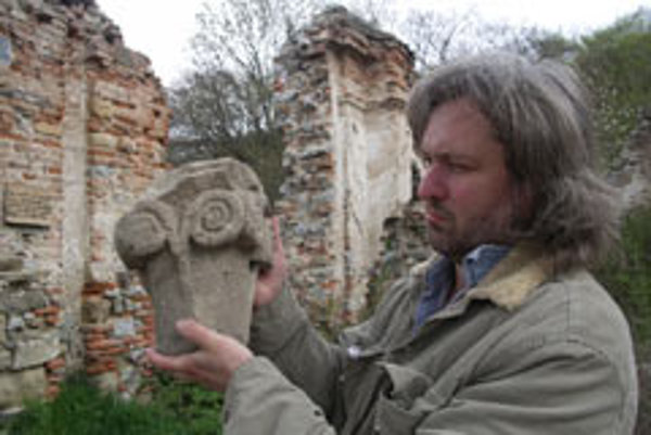Where did the rest go?: All that remains of Slovakia's oldest monastery.