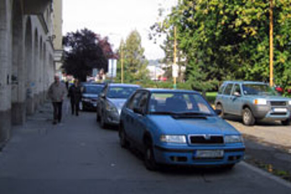 Drivers have been aggressive in their parking habits, say police.