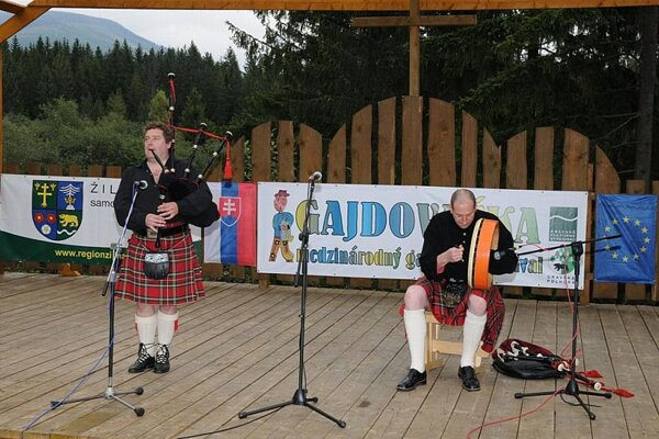 The Gajdovačka bagpipe festival featured players from Slovakia and abroad..