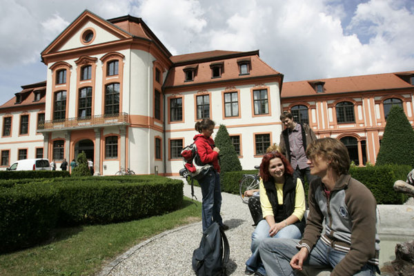 A good knowledge of German gives Slovak students a better chance of studying at a German university. Above: the University of Eichstaett.
