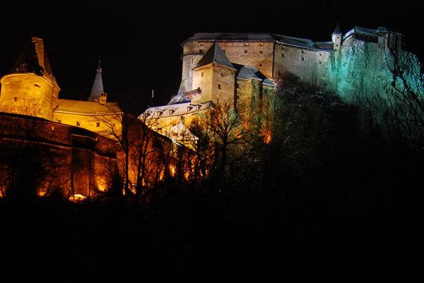 Orava Castle has had a lighting upgrade.