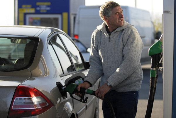 Falling motor fuel prices are also making drivers happy.