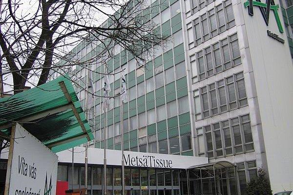 Metsä Tissue manufactures tissue paper in Žilina.