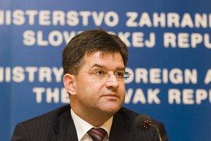 Foreign Minister Miroslav Lajčák.