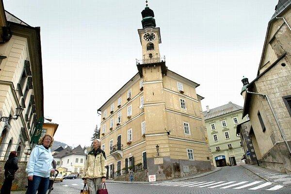 Banská Štiavnica, home of Nácko the (fictitious) miner