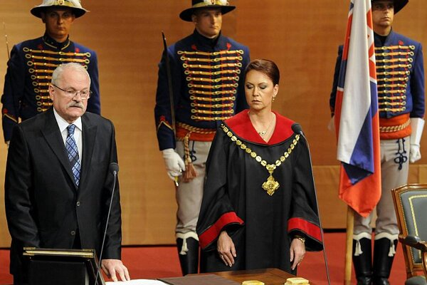 President Ivan Gašparovič was sworn in on June 15.