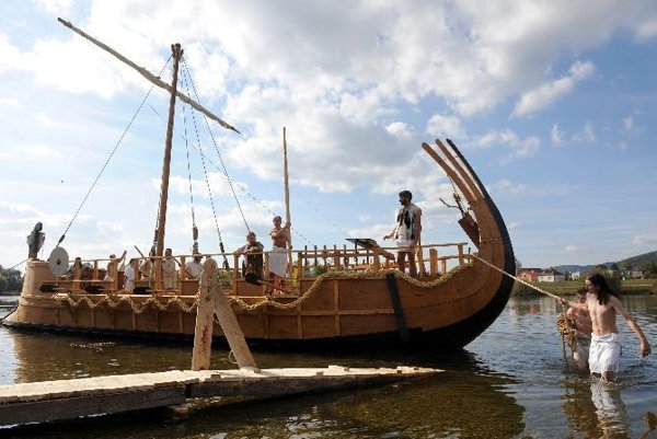 Ancient Greece comes to Trenčín, in the form of a replica bireme.