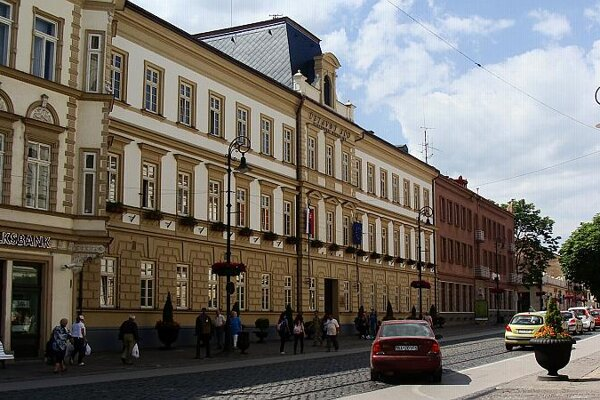 The Constitutional Court in Košice.