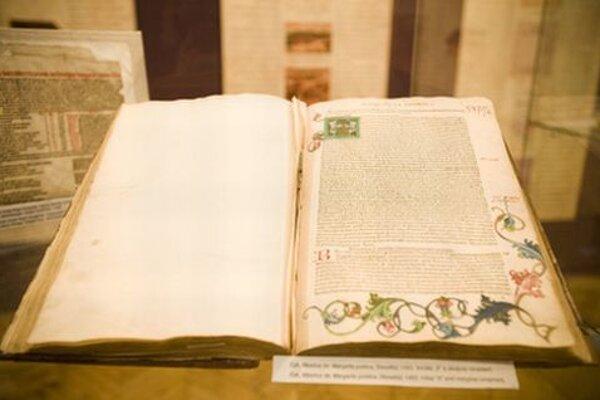 Exhibit at Cesta slovenskej knihy.