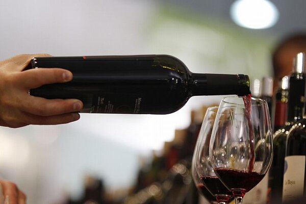Bottoms up: More than 1,000 wines were sampled at the 4th Nationwide Slovak Wine Exhibition in Skalica in late April.