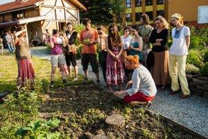 The Spring Harmony festival at the Sosna eco-centre.