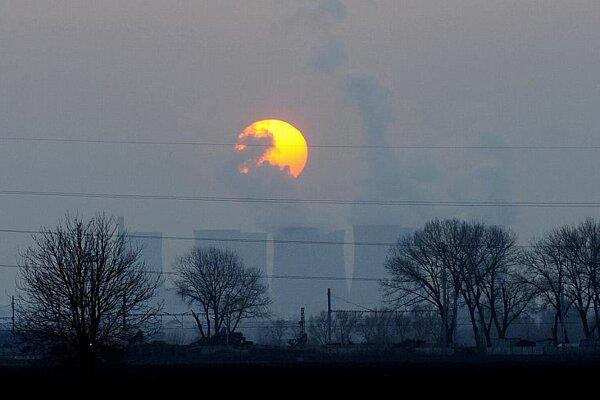The nuclear power plant in Jaslovské Bohunice.