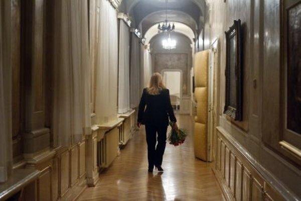 Iveta Radičová is leaving the corridors of power.