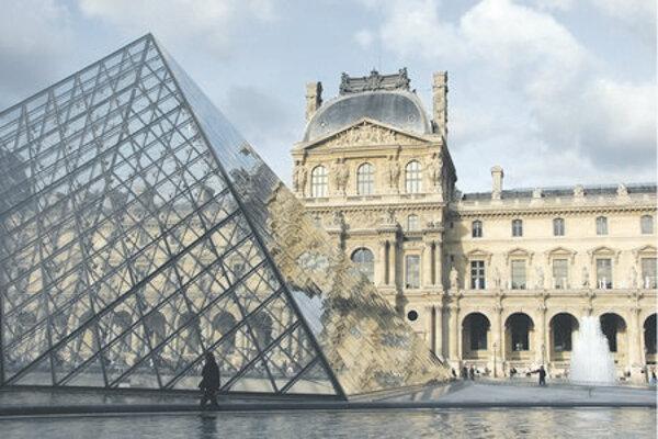 The Louvre , in Paris.