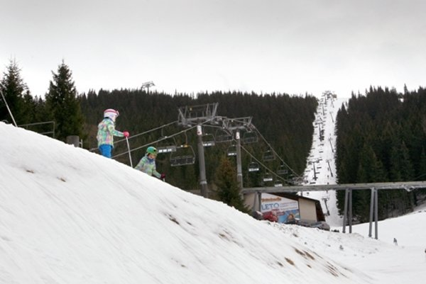 Ski resort Jasná